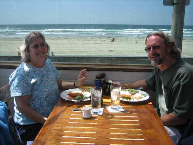 Surfer Motel's oceanfront restaurant