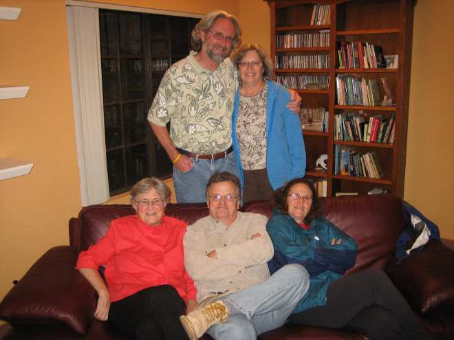 (Sitting)  Gale, Mike and Rita (Standing) Bill and Kathy