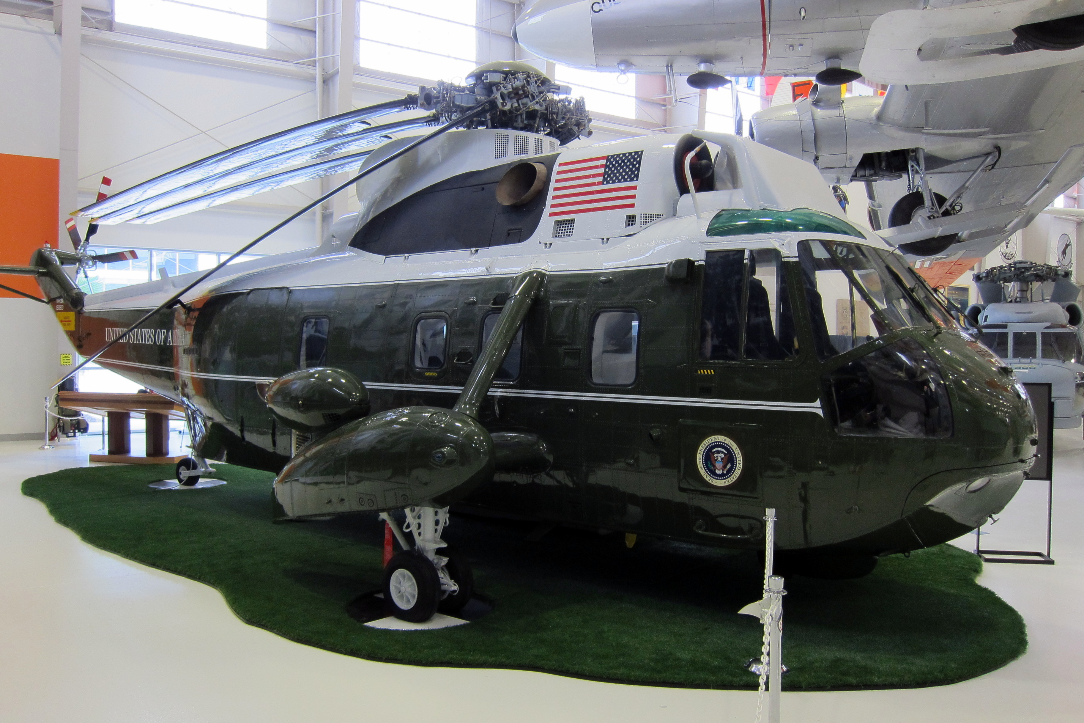 Presidential Helicopter Interior