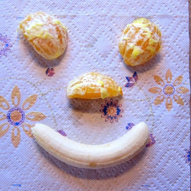 Banana face