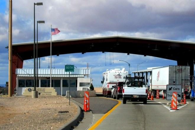 Border Patrol Check Station