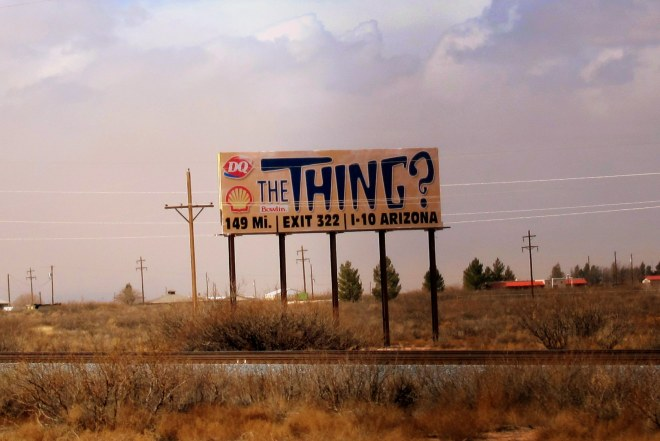 The Thing Sign