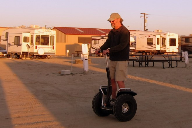 Smiling Segway Bill