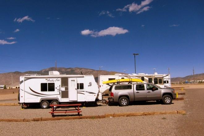 Kirtland Campsite