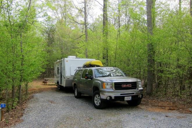 Camp Karma Campsite