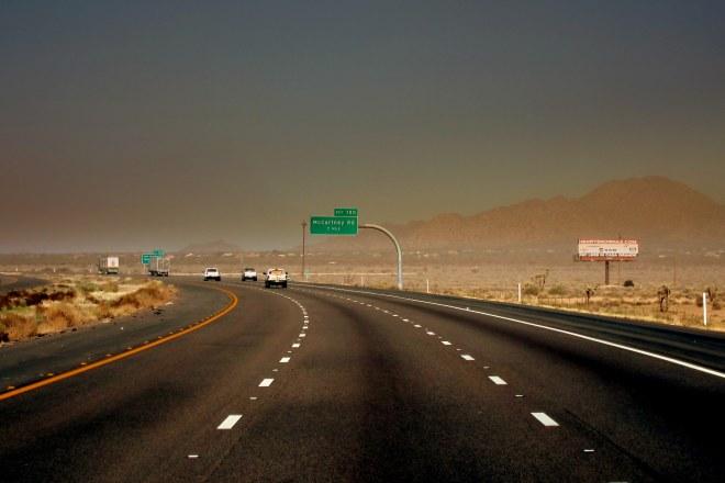 I-10 Sand Storm