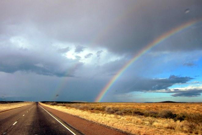 Texas Storm, Double Rainbow #1