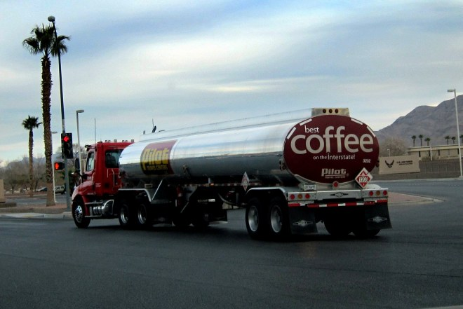 Coffee Tanker