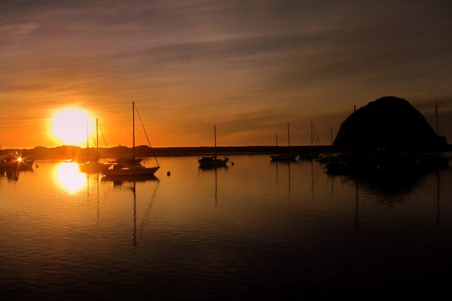 Morro Bay Sunset, Pix #2