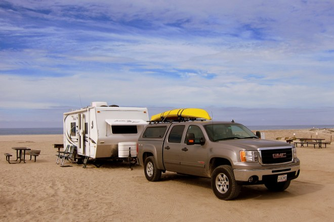 Del Mar Beach Campsite