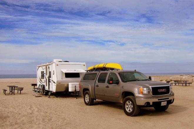 Del Mar Beach Campsite