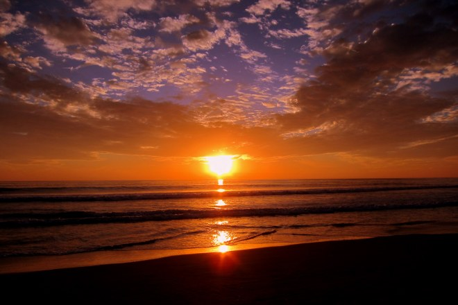 Del Mar Beach Sunset, Pix #2