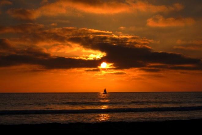 Del Mar Beach, Sunset, Pix #A2