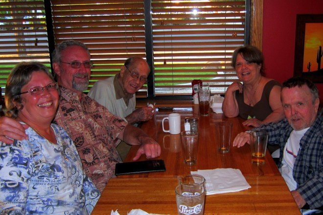 Dinner Out with the AZ Olson's, Photo #1