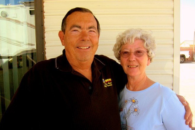 John and Gloria Visit, Pix #1