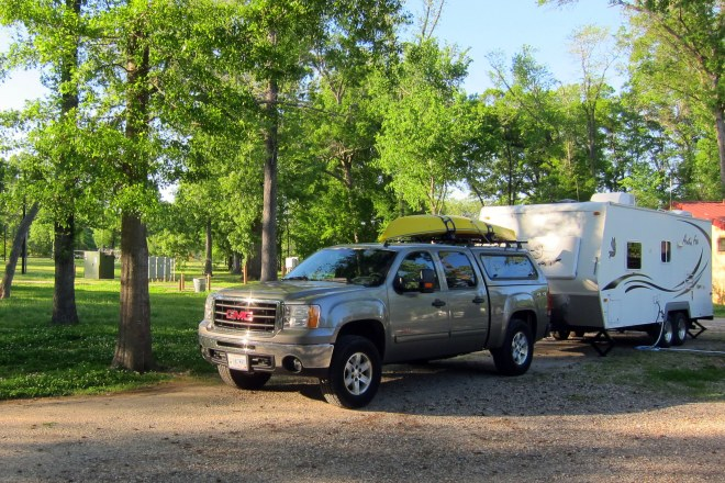Barksdale AFB Campsite