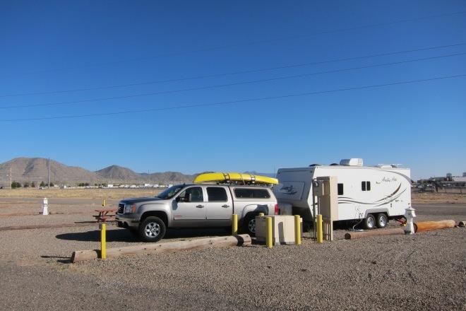 Kirtland AFB Campsite