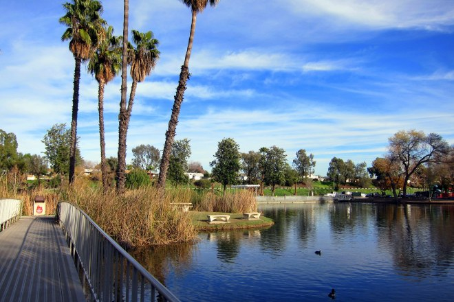 Santee Lakes Path