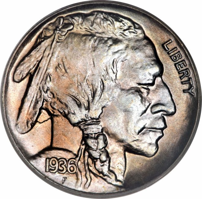 Buffalo Nickel Obverse
