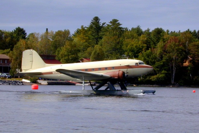DC-3 on Floats at Moosehead
