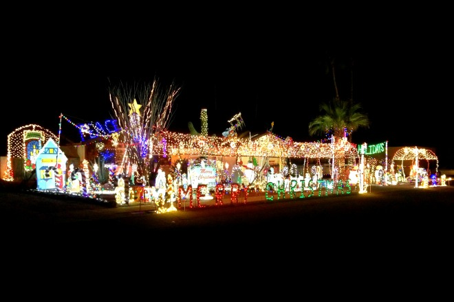 Tucson Christmas House