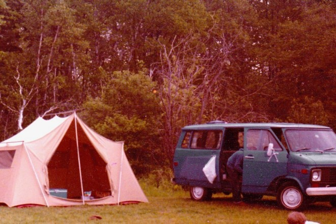 Camping in 1974