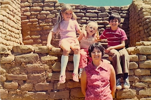 Mesa Verde-1974, Kim-9, Joe-7, Suzie-3-Photo #1